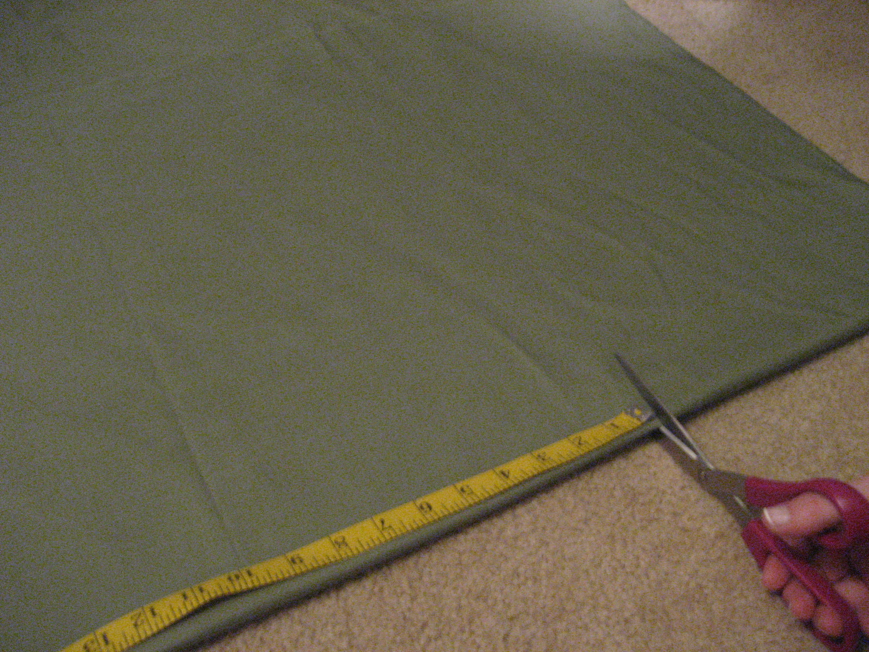Picture of Cut the Fabric According to Your Measurements