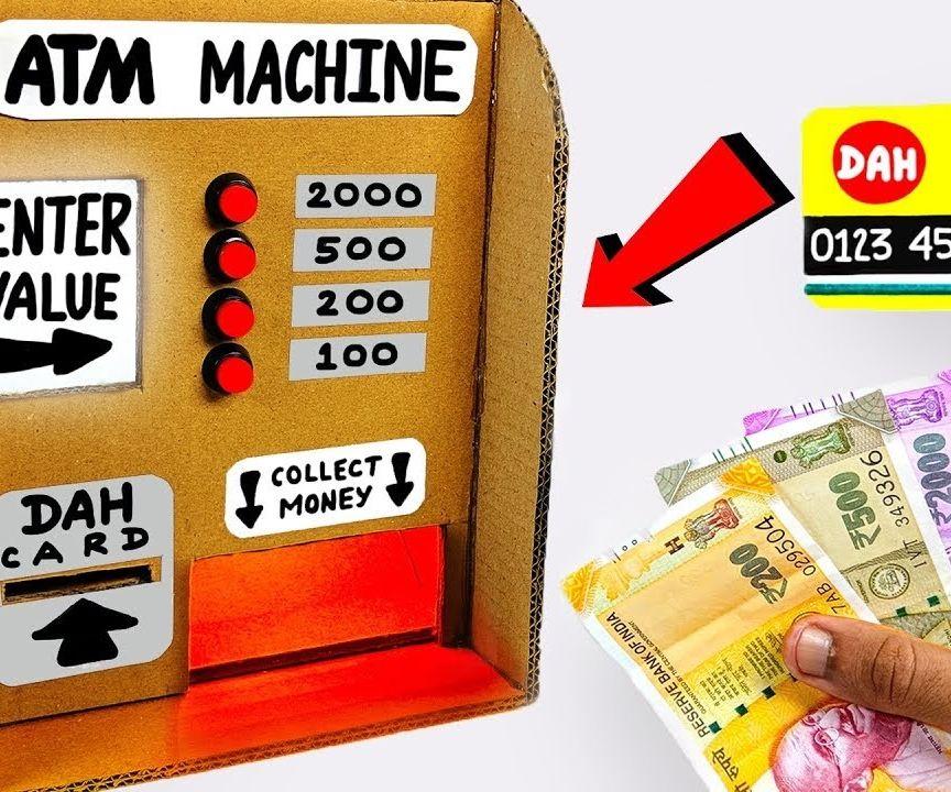 mini atm machine project