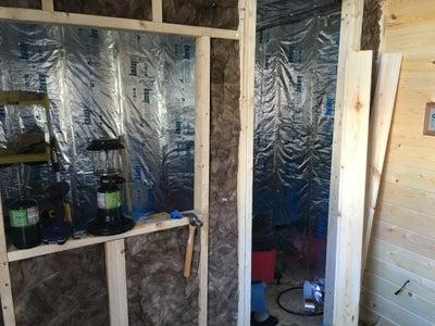 Interior Framing & Insulation