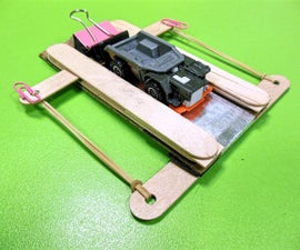 Cheap and Easy Catapult for Hot Wheels Style Toy Cars