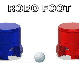 3D Printed Arduino Football Robots
