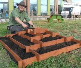 Slot Together Pyramid Garden Planter