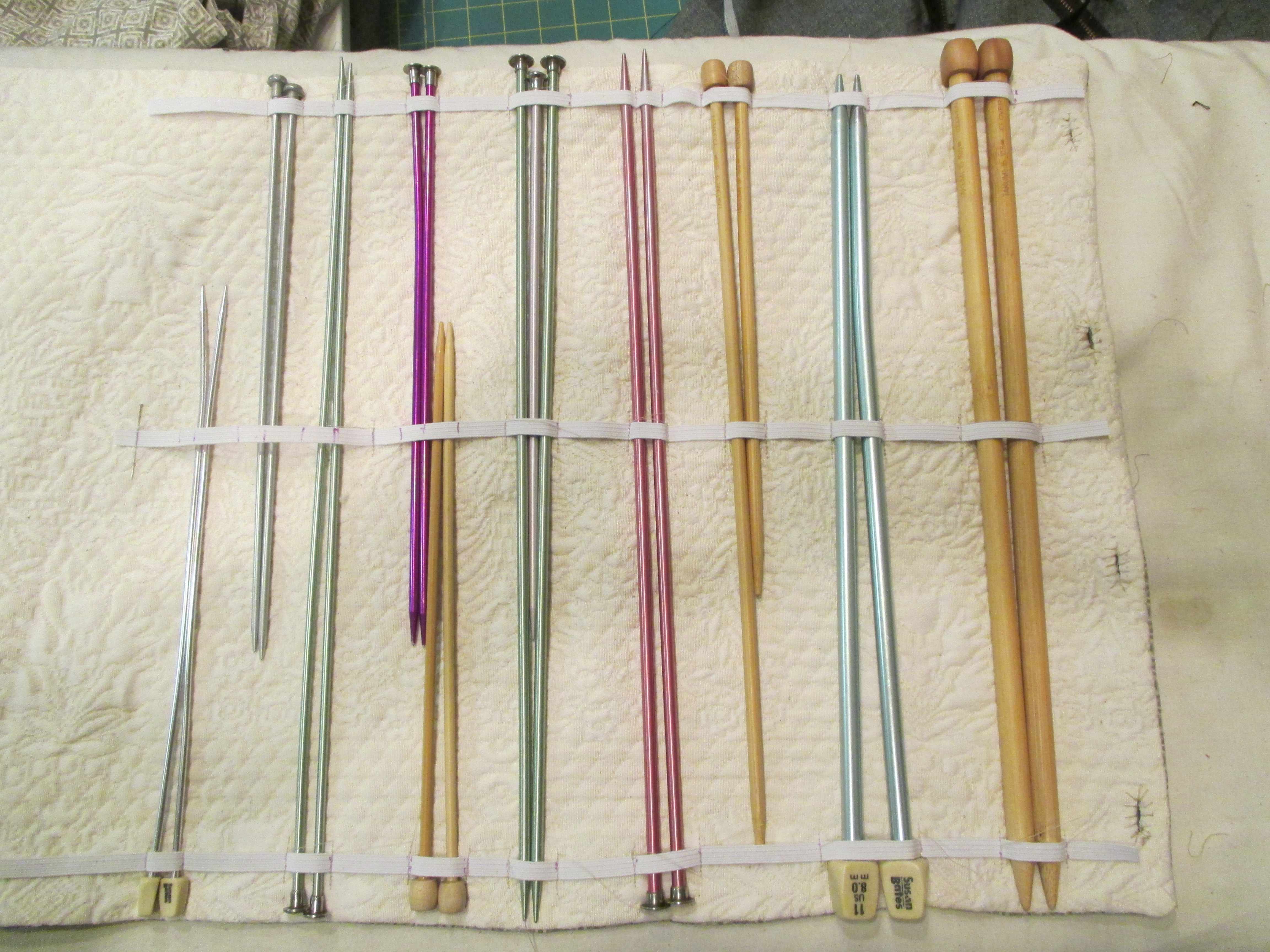 Picture of Remove Knitting Needles and Sew