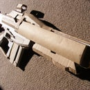 Destiny Shingen-C Auto Rifle (Cardboard)(NOT FINISHED) by Triggerhappy101