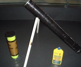 Tennis Ball Mortar