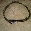 Virtually Indestructible Single-Piece Woven Paracord Belt w/ Original Weave