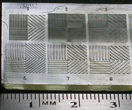 Ember Printer: Measuring Horizontal Resolution