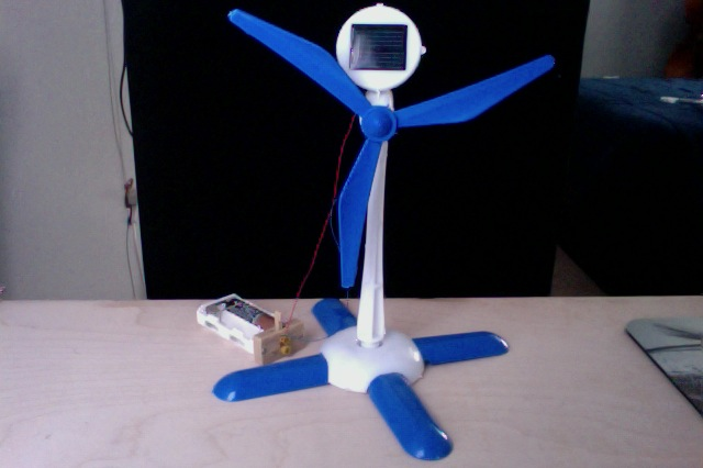 Picture of Solar-Powered Windmill