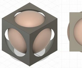 Impossible Object With Fusion 360 - Box and Ball