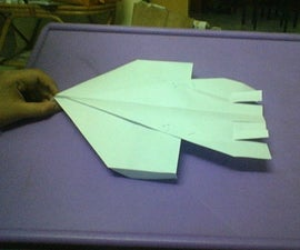Control Direction of your paper plane