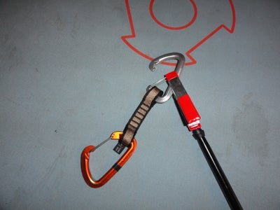 Rock Climbing Stick Clip