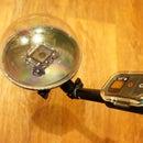 A cheap DIY hemisphere for GoPro