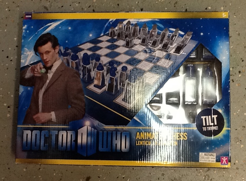 Picture of Tardis 3-D Vertical Chess