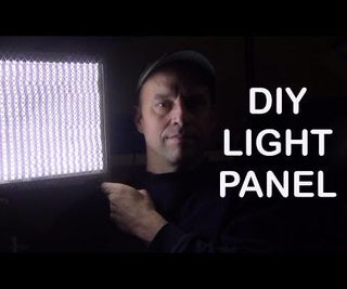 DIY LED Light Panel