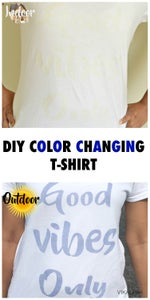 DIY Color Changing T-shirt