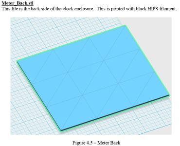 3D Printing - Meter_Back.stl