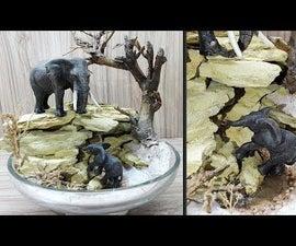 How to Make Wildlife Diorama