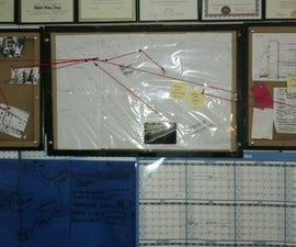 Reversible Conspiracy Theory/Concept Board for Your War Room