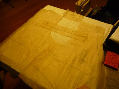 Cut the Front Pieces Out.