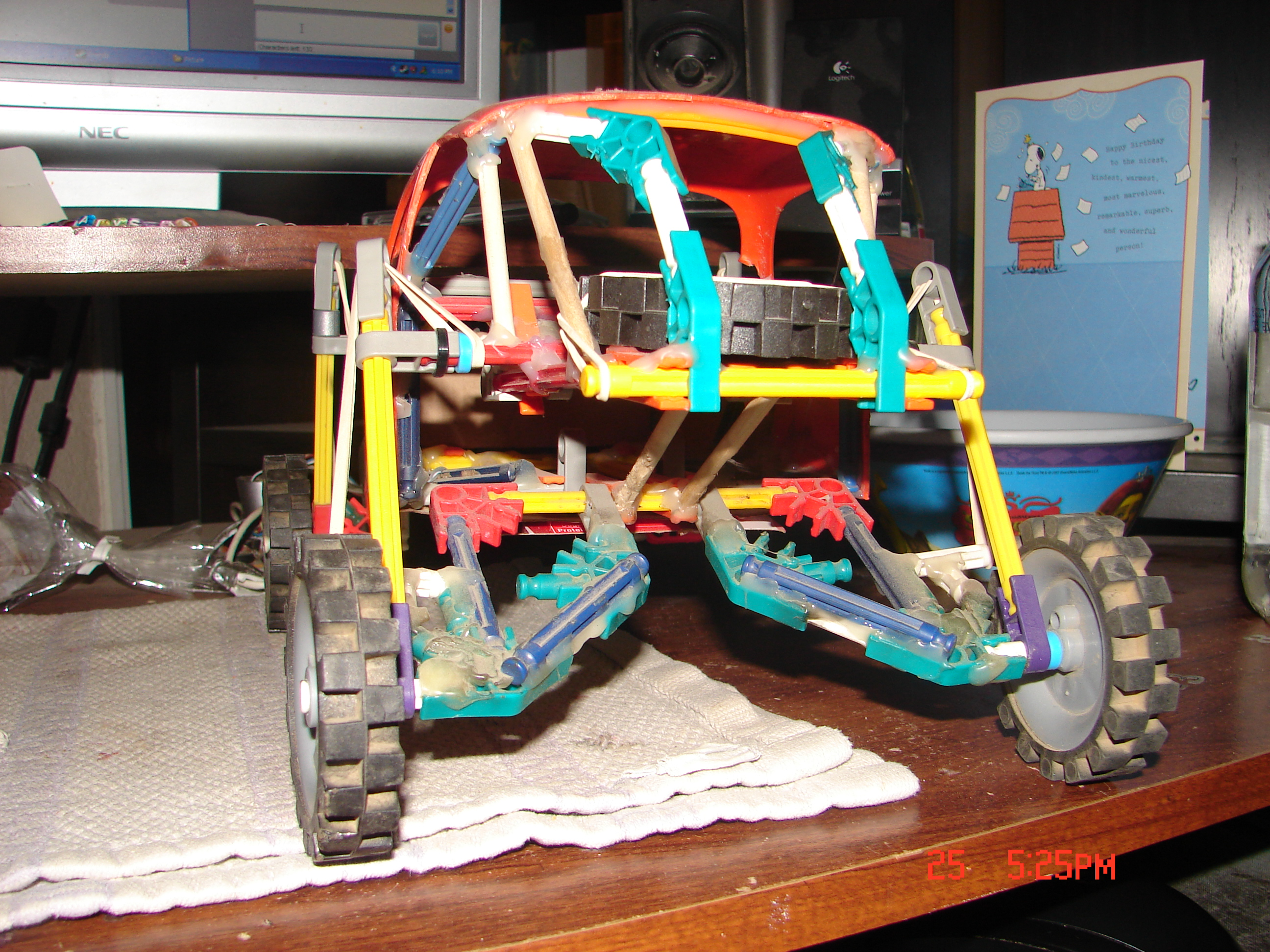 Picture of Knex Baja Bug