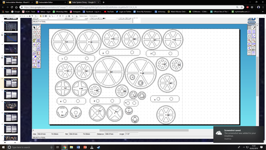 Laser Cutting the Gears