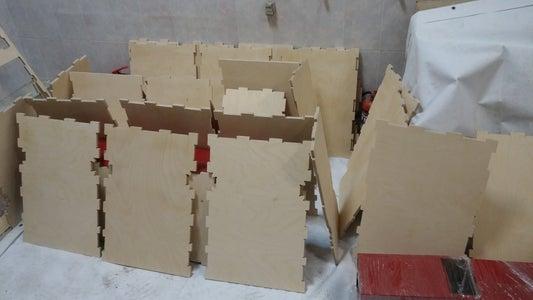Sanding and Varnishing