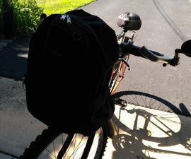 Bicycle Bag From Backpack