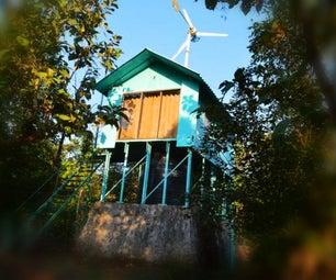 DIY Solar+Wind House