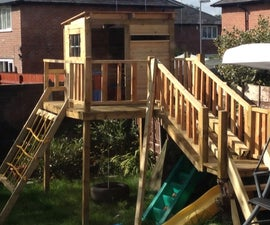Playhouse Fort