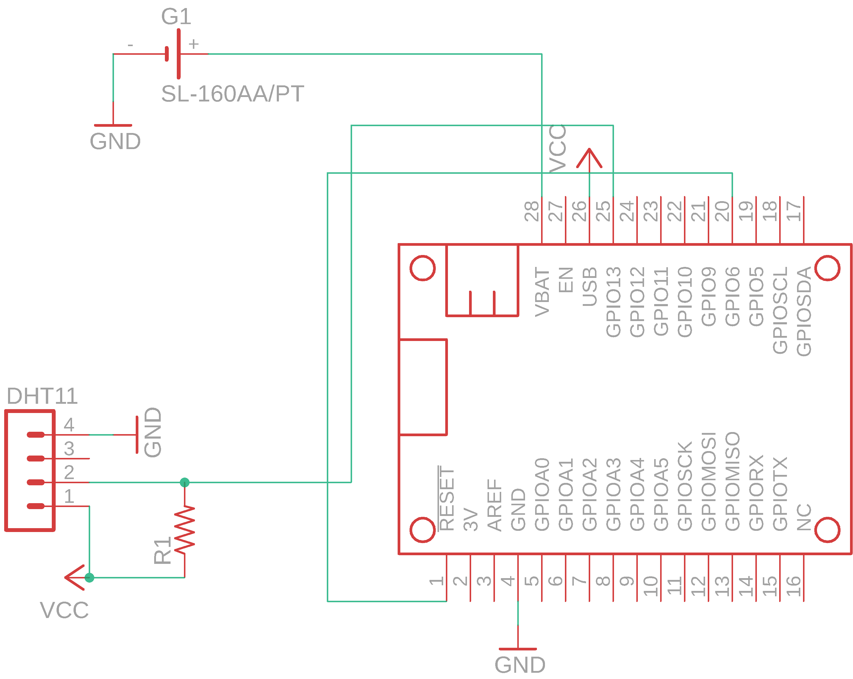 Picture of Constructing the Circuit on a Breadboard