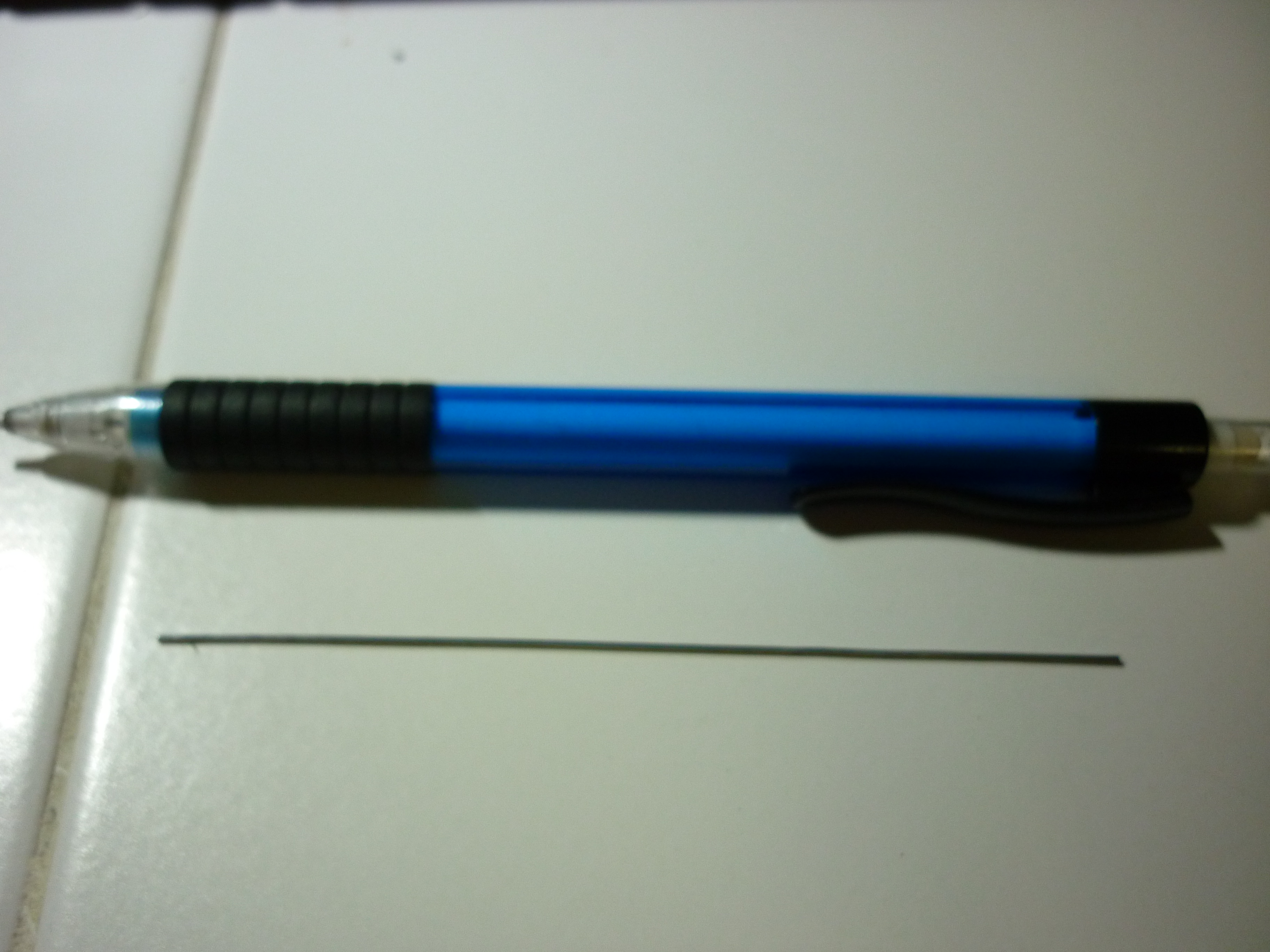 Picture of Preparing the Solder and the Mechanical Pencil.