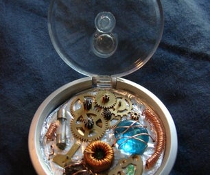 Steampunk / Cyberpunk Time Device on the Cheap