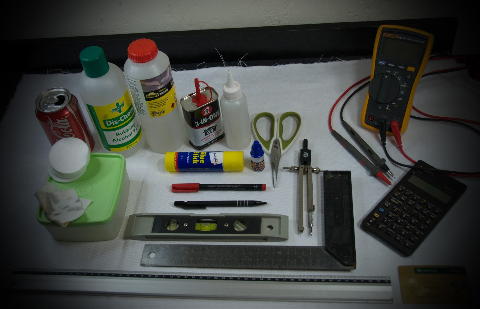 Picture of Tools, Consumables, Electronics & Fasteners