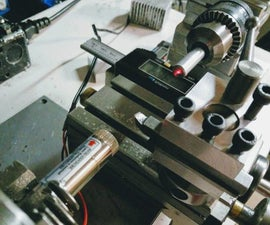 Laser Alignment for Taig Lathe