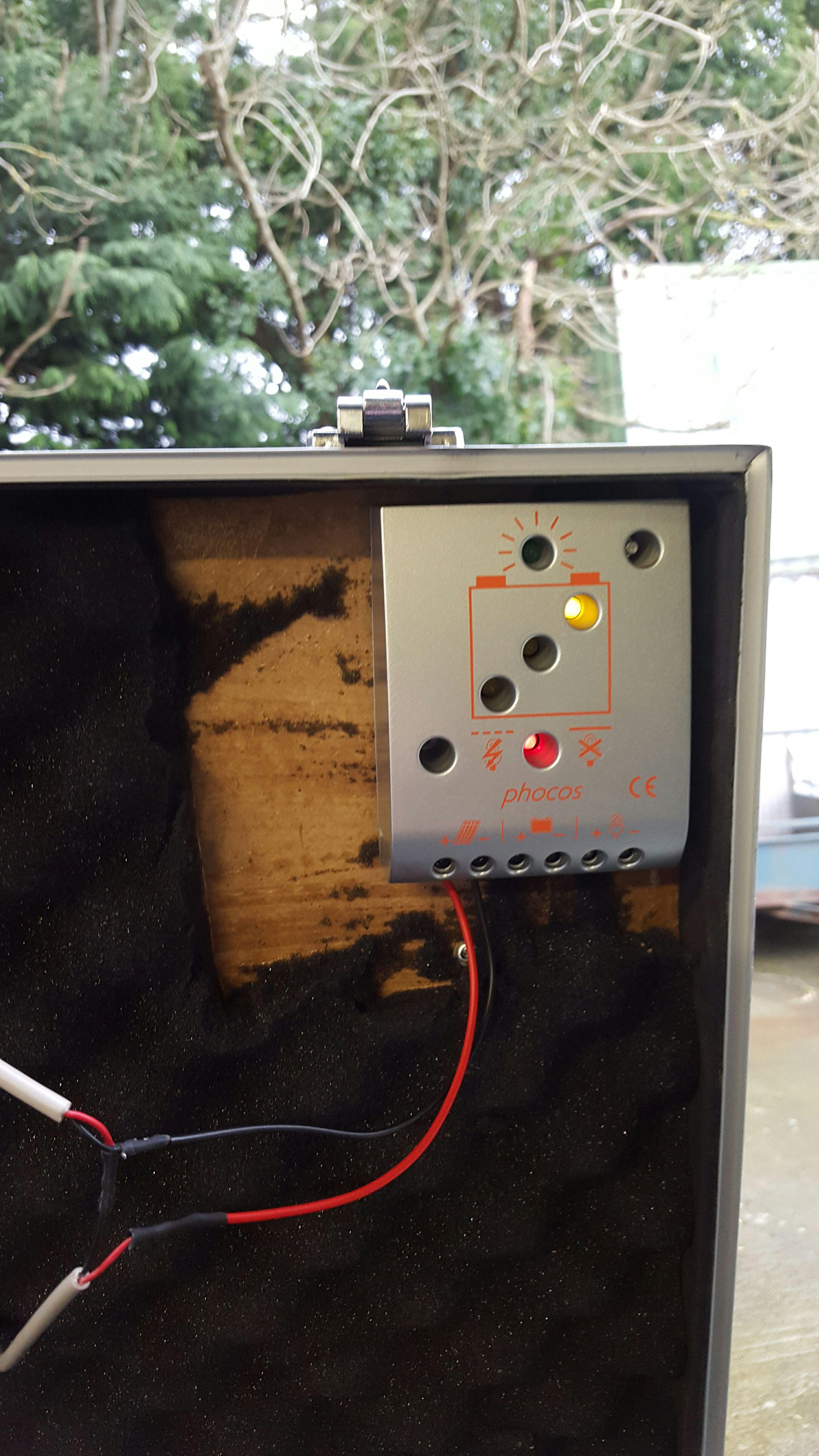 Picture of Solar Panels & Regulator