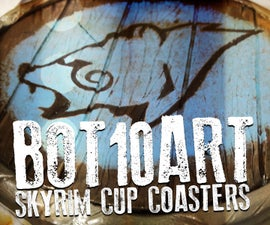 Skyrim Shield Cup Coaster