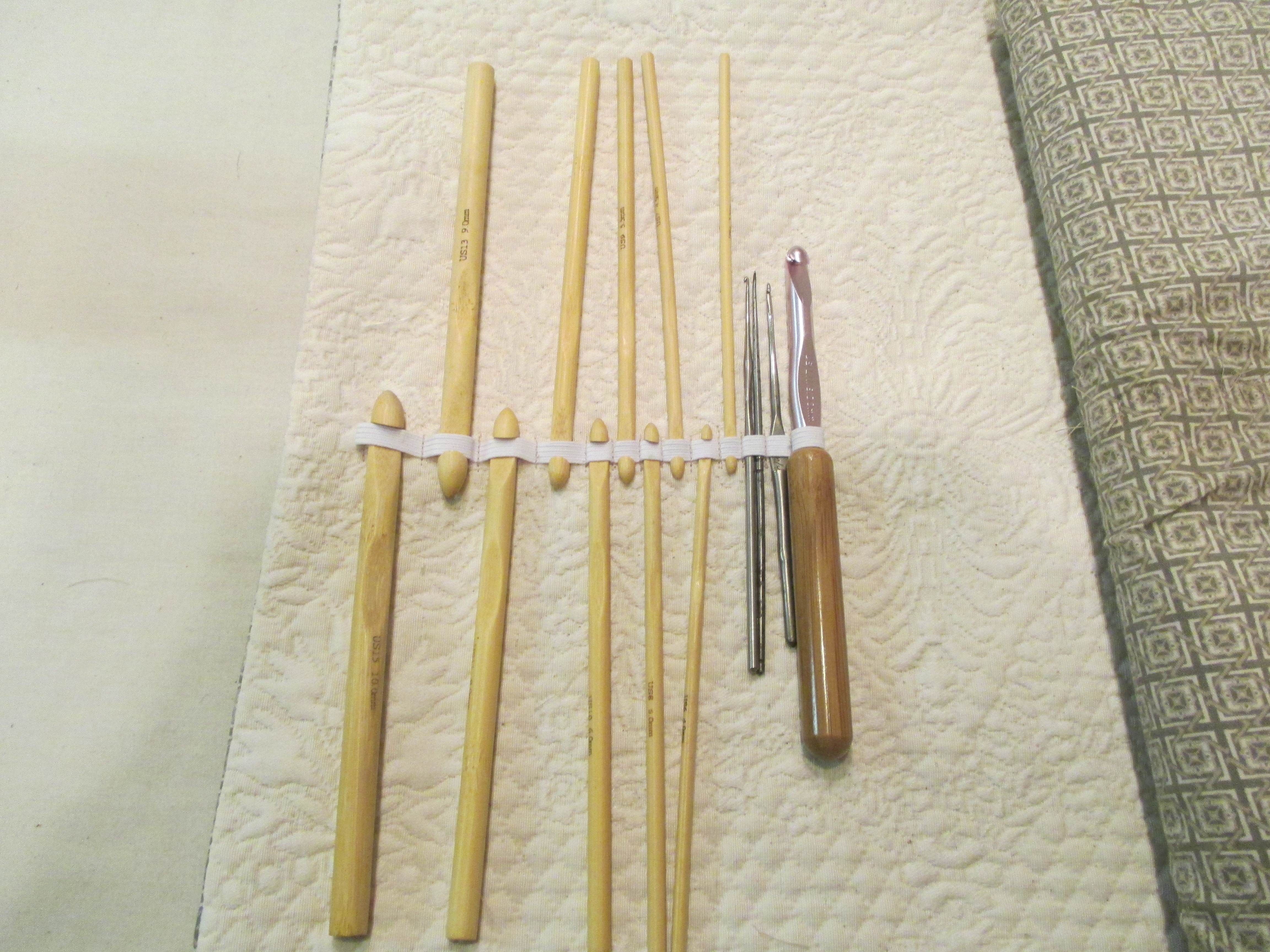 Picture of Crochet Hooks and Double Point Pockets