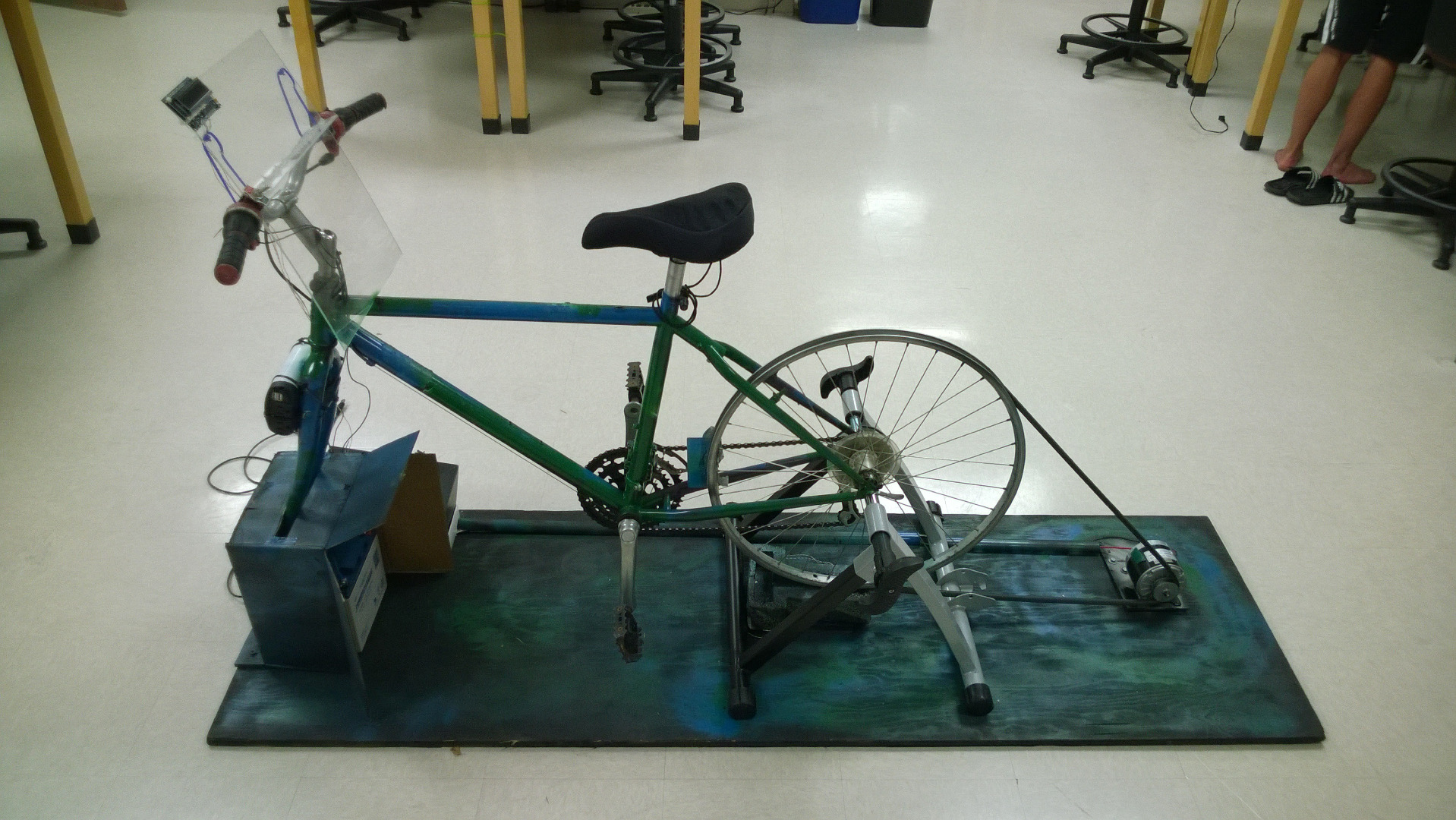 Picture of Bike Generator Charging Station
