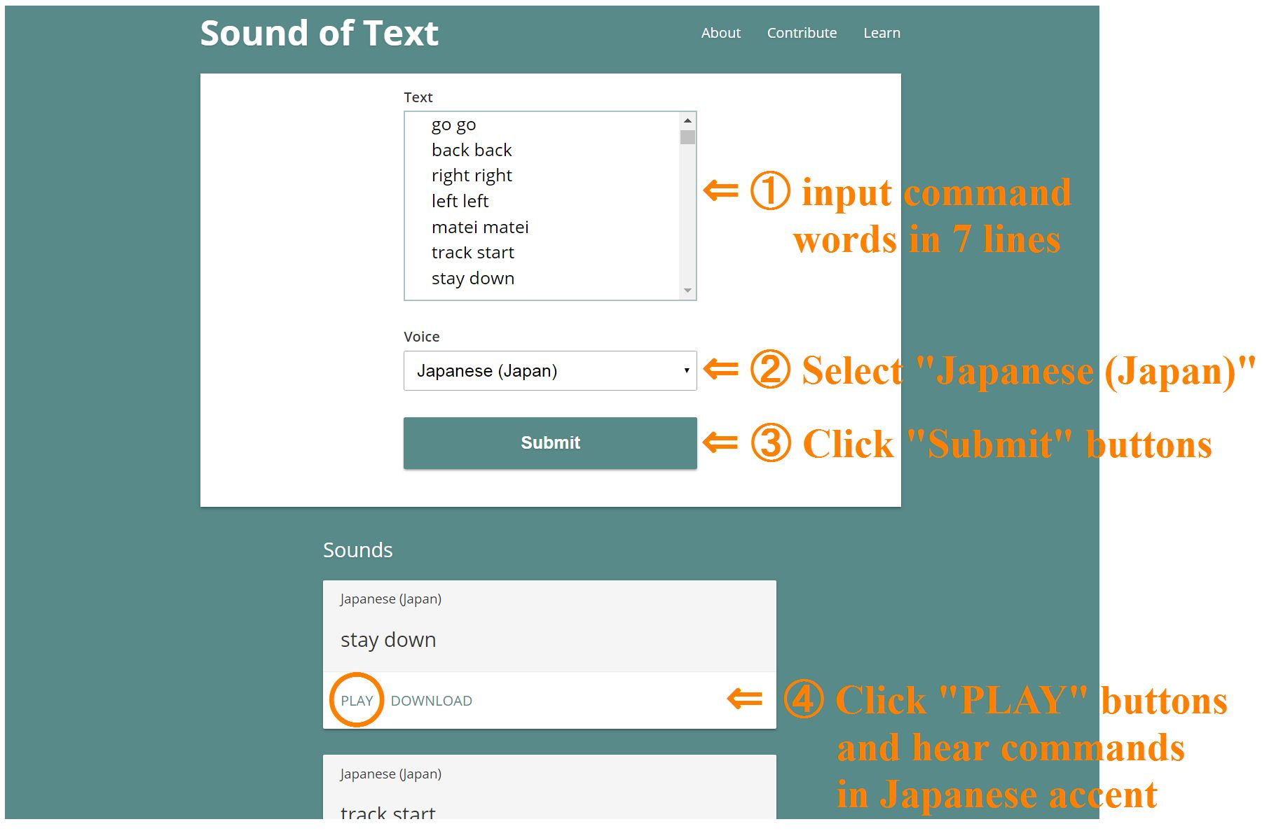 Picture of How to Use Read Aloud Service