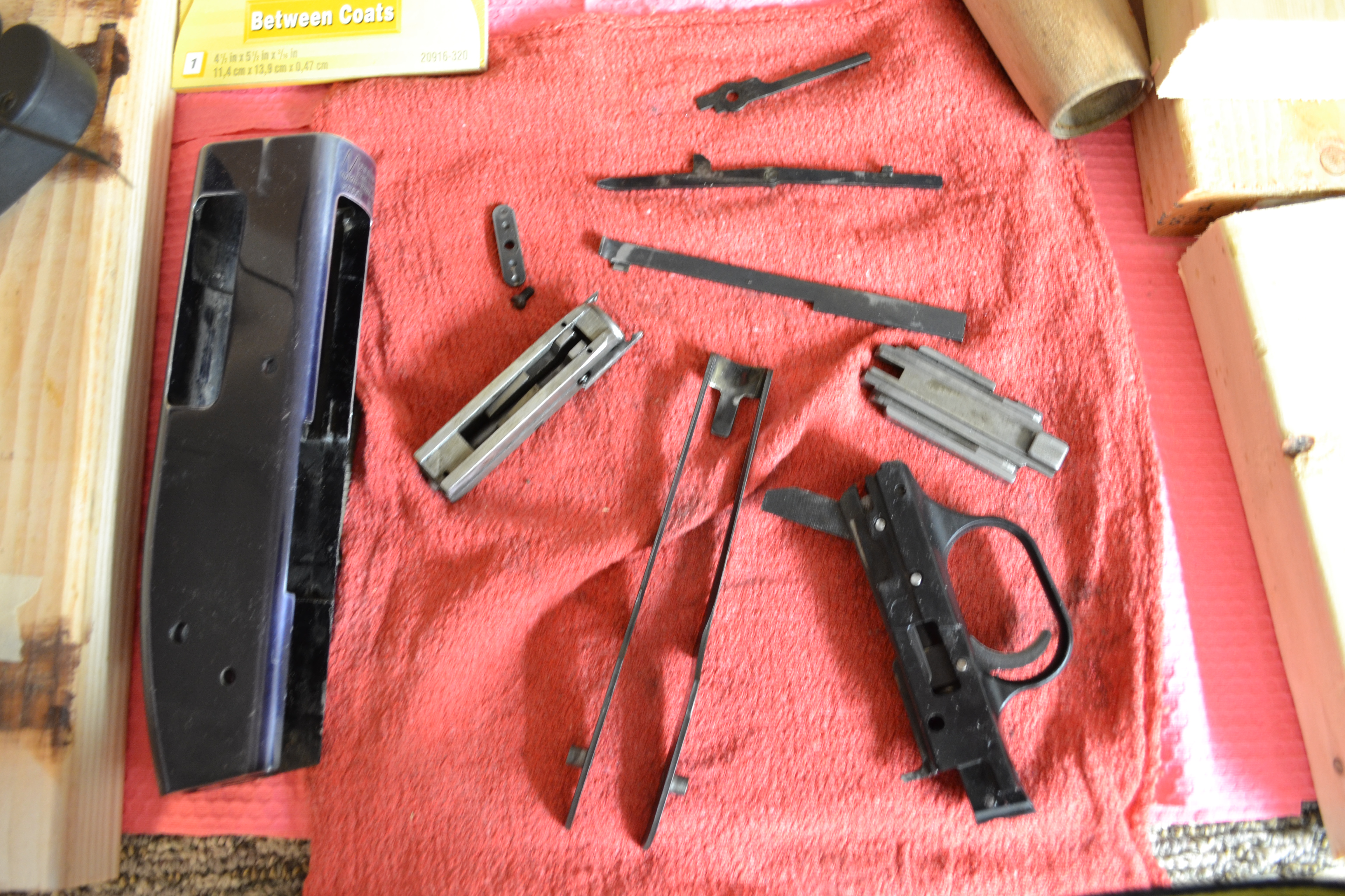 Picture of Disassemble the Firearm