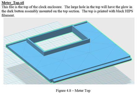 3D Printing - Meter_Top.stl
