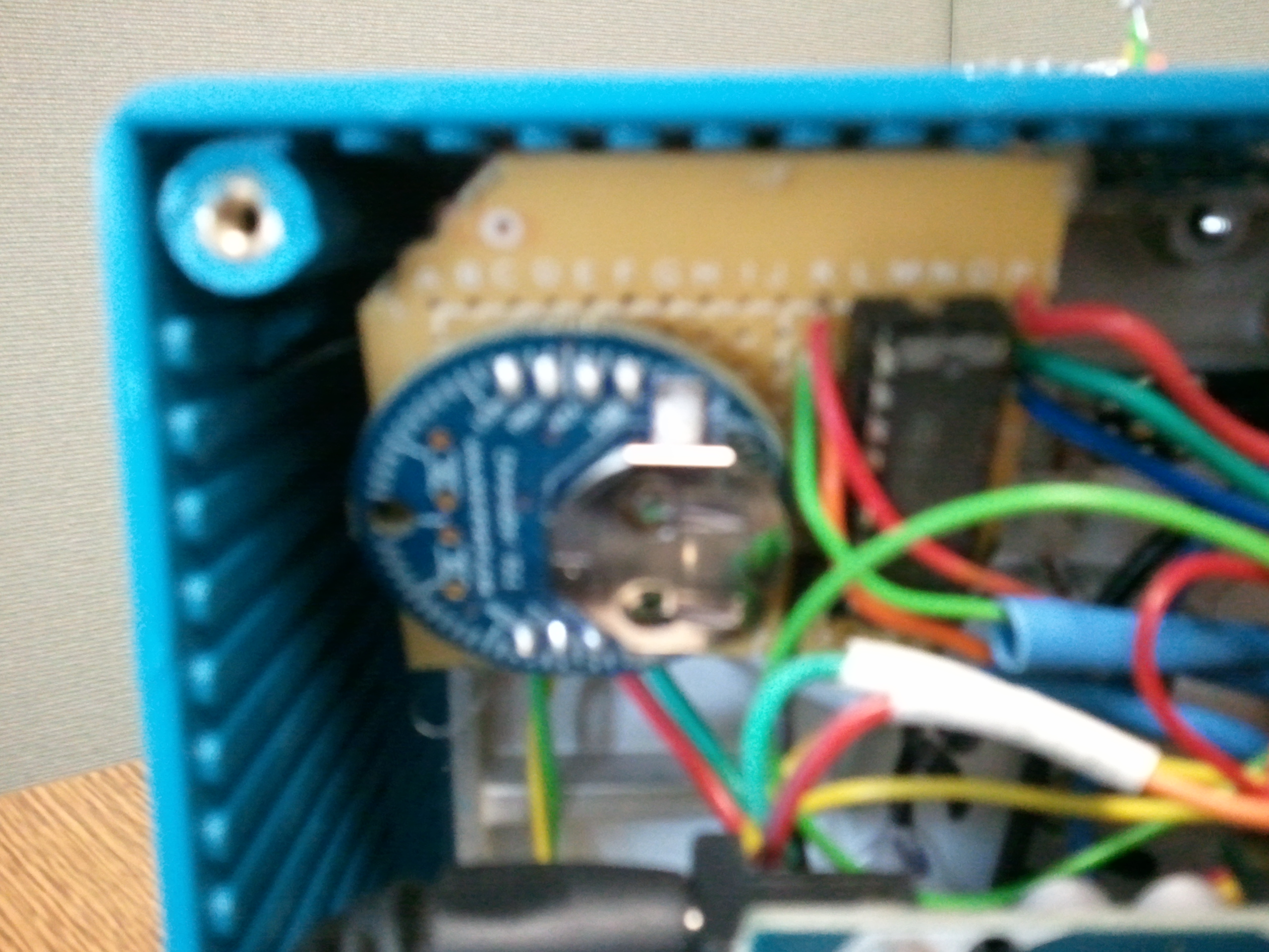 Picture of Arduino Analog Hard Drive POV Clock