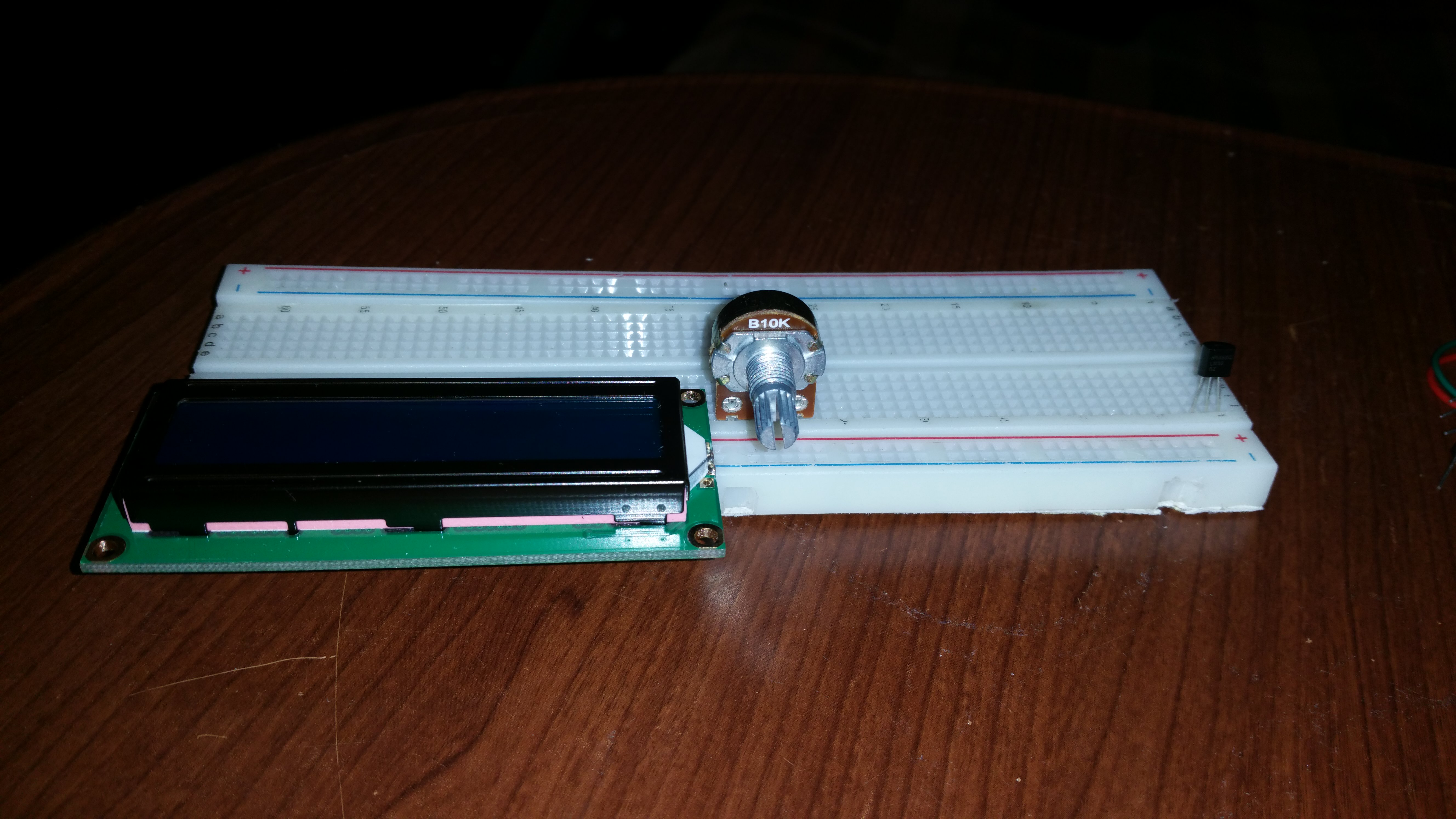 Picture of Plugging the Parts Into the Breadboard