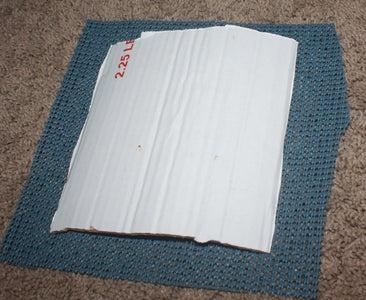 Cut and Attach Foam Shelf Liner