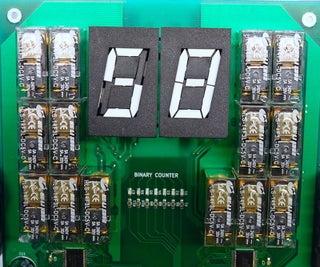 Electromechanical Decimal to Binary to Hexadecimal Converter