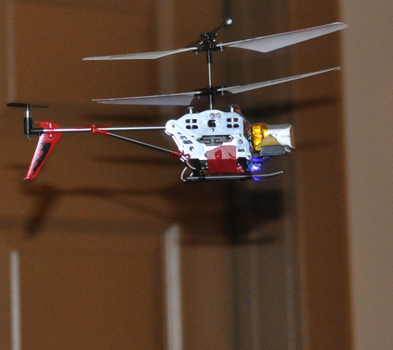 Picture of Add Radio to a Syma S107 IR Helicopter (or Any Other IR Device)