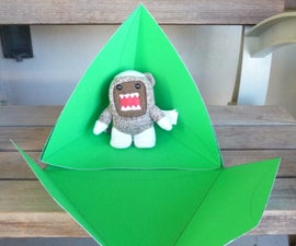 75 cent Large Tetrahedron Gift Box (Domo not included)