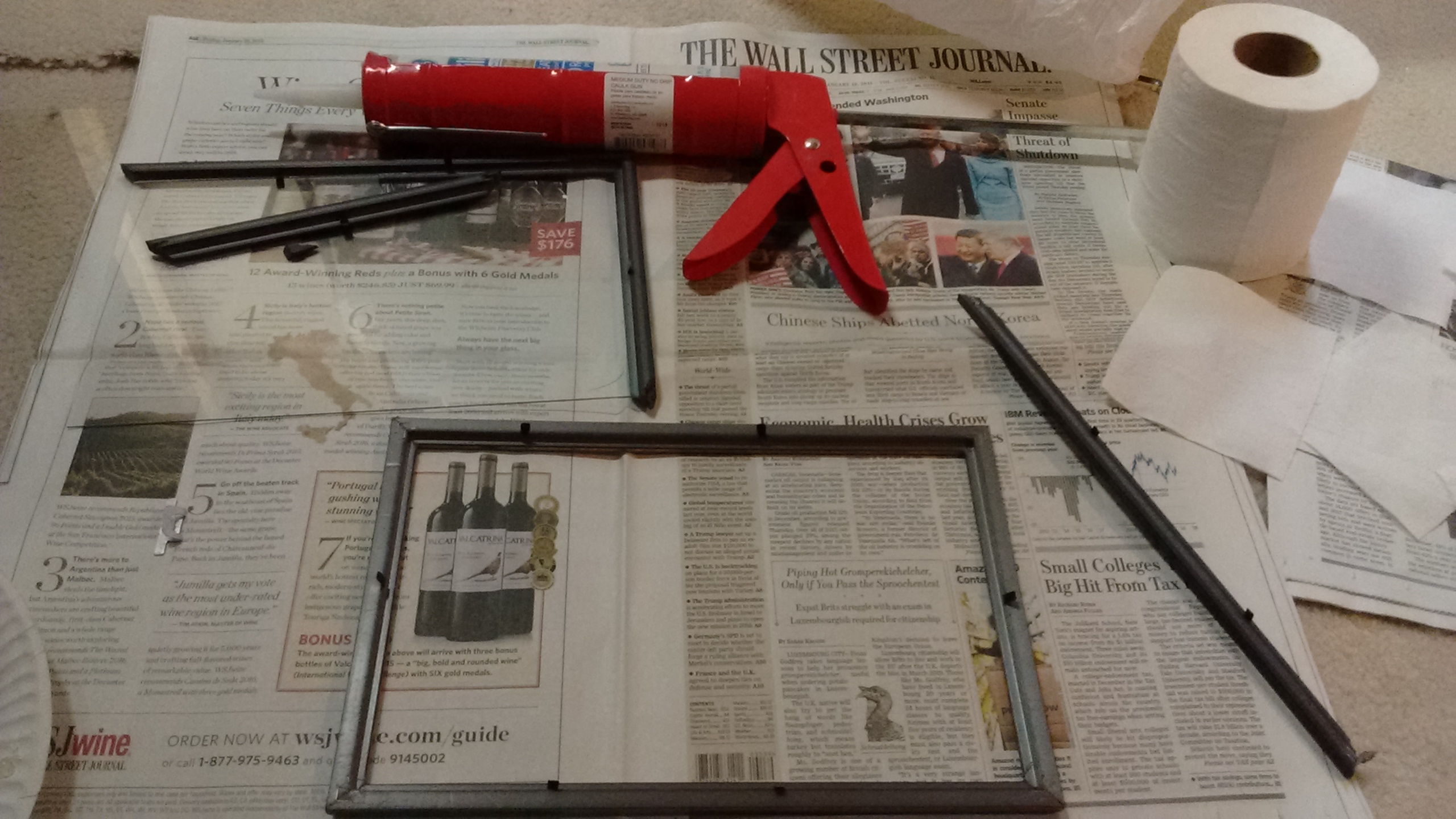 Picture of Caulk the Frames