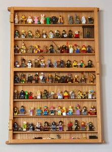 Lego People Display Case