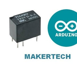 interface relay with arduino
